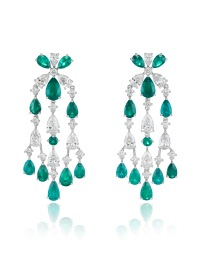 Red Carpet chandelier earrings 849935-1001