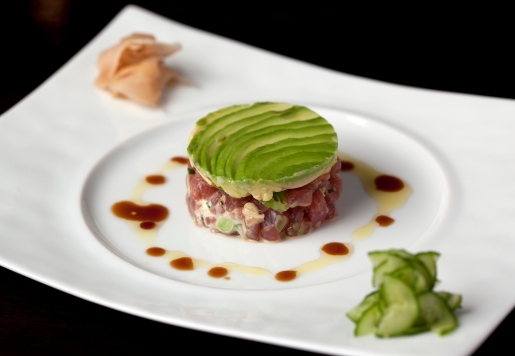 Big Eye Tuna Tartar- CUT at 45 Park Lane