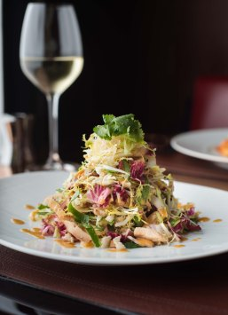 CUT at 45 Park Lane - Chinese chicken salad (portrait)