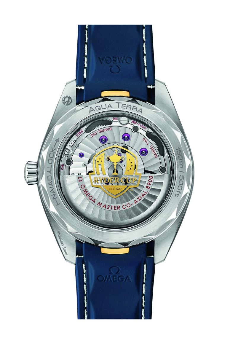 Seamaster Aqua Terra Ryder Cup Timepiece Caseback