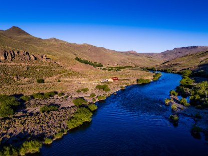 7 Fly fishing Argentina at Alumine River Lodge - Courtesy of Frontiers