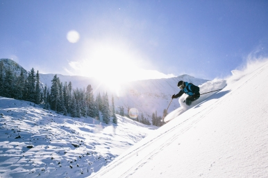 9 Big Sky skiing - Courtesy of Moonlight Basin