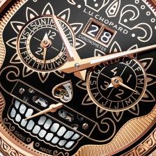 L.U.C Perpetual T Spirit of La Santa Muerte 161941-5005 detail (4)